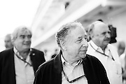 October 23, 2016: United States Grand Prix. Jean Todt, FIA President