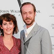 NLD/Amsterdam/20130705 - Presentatie Johnnie Walker Voyager - Jan Taminiau coctail, Jan Taminiau en zuster Maartje Taminiau