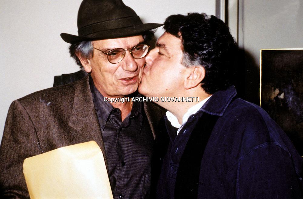 Kondos Ghiannis con Vasilicos<br />C. ARCHIVIO GIOVANNETTI