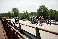 The break of the day escapes during Stage 9 of 2019 Giro Rosa Iccrea, a 125.5 km road race from Gemona to Chiusaforte, Italy on July 13, 2019. Photo by Sean Robinson/velofocus.com