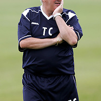 St Johnstone FC first day back in training after the summer break, manager Tommy Campbell, Youthe Development Manager<br />see story by Gordon Bannerman Tel: 01738 553978 or 07729 865788<br />Picture by Graeme Hart.<br />Copyright Perthshire Picture Agency<br />Tel: 01738 623350  Mobile: 07990 594431