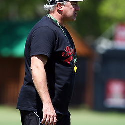 DURBAN, SOUTH AFRICA, November 20- 2015 -  Gary Gold (Sharks Director of Rugby) during The Cell C Sharks Pre Season training for the 2016 Super Rugby Season at Growthpoint Kings Park in Durban, South Africa. (Photo by Steve Haag)<br /> Images for social media must have consent from Steve Haag