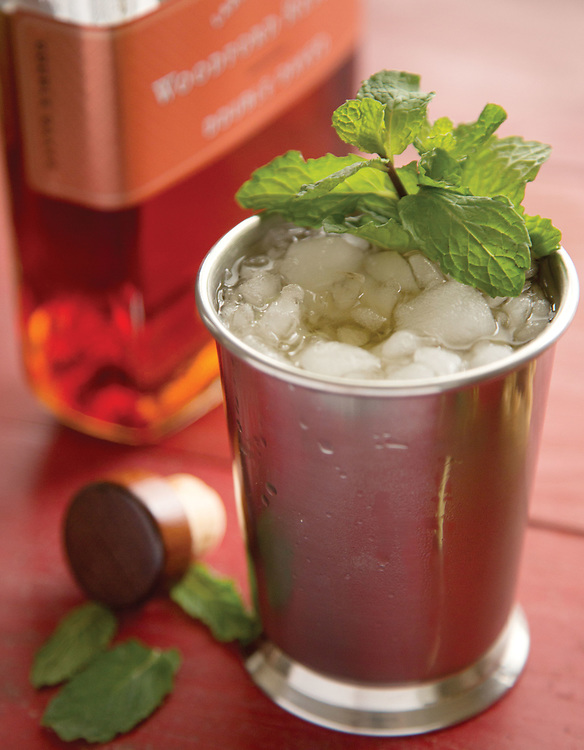 Mint Juleps for Derby day appetizers for Capital Style. (Will Shilling/Capital Style)