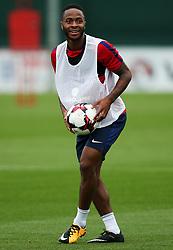 England's Raheem Sterling - Mandatory by-line: Matt McNulty/JMP - 29/08/2017 - FOOTBALL - St George's Park National Football Centre - Burton-upon-Trent, England - England Training and Press Conference