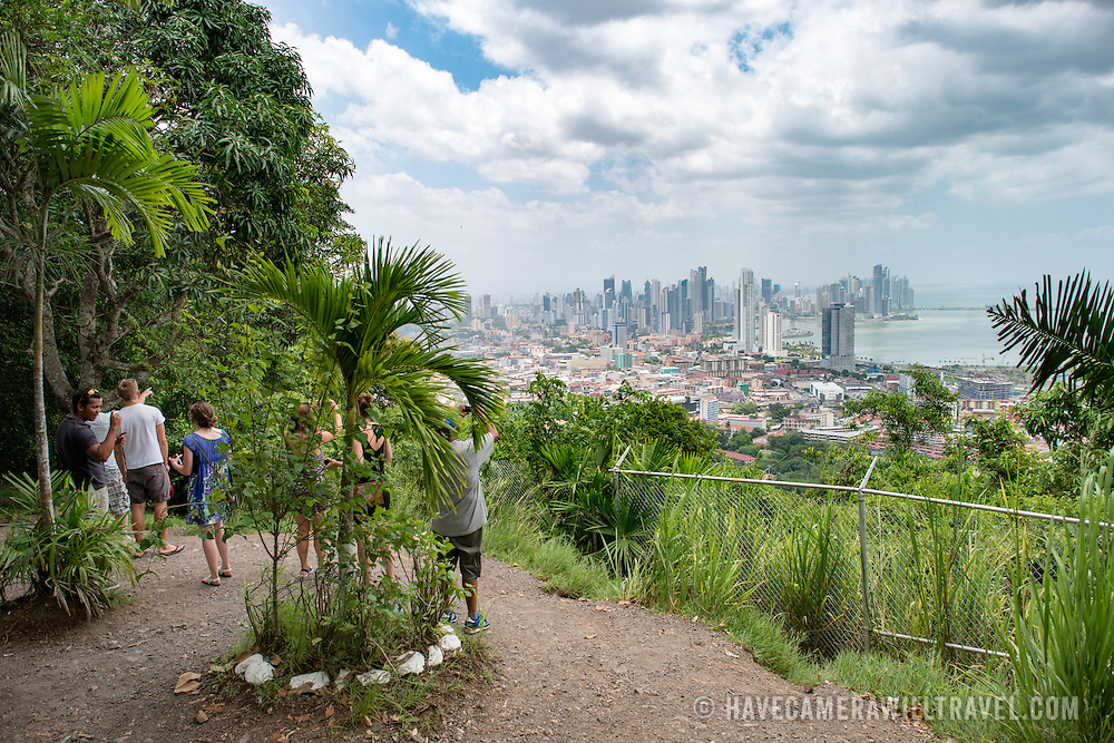 Ancon Hill is only 654-feet high but commands an impressive view out over the new and old sections of Panama City. With views out over both the Pacific Ocean and the entrance to the Panama Canal, the area was historically where the administration of the Panama Canal was centered and now has a mix of high-end residences and government departments.
