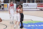 Shields Shavon, Bertans Dairis<br /> Dolomiti Energia Trento - EA7 Emporio Armani Playoff Finale gara 6<br /> Legabasket serieA 2017-2018<br /> Trento  15/06/2018<br /> Foto Ciamillo-Castoria /Thomas Barea