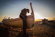 Hand made boat tradition Malaga