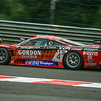#4 Saleen S7-R #060R, PekaRacing nv, driven by: Anthony Kumpen (B)/Bert Longin (B)/Kurt Mollekens (B)/Frédéric Bouvy (B), at the Spa 24H, 2008