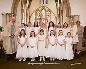 Graignamanagh boys & girls Communion 2014