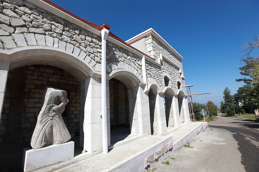 Shushi suffered badly during the war. There has been a lot of investment over the last few years and the city is modernising and evolving back into its original position as the Cultural centre of Artsakh.