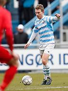 FODBOLD: Anders Holst (FC Helsingør) under kampen i NordicBet Ligaen mellem FC Helsingør og Nykøbing FC den 12. marts 2017 på Helsingør Stadion. Foto: Claus Birch
