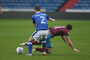 Cameron Dummigan Oldham Defender during the EFL Sky Bet League 1 match between Oldham Athletic and Scunthorpe United at Boundary Park, Oldham, England on 28 October 2017. Photo by George Franks.