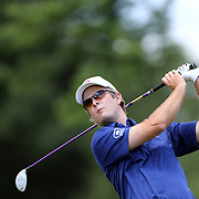 Kevin Streelman, USA, in action on the final day while winning the Travelers Championship at the TPC River Highlands, Cromwell, Connecticut, USA. 22nd June 2014. Photo Tim Clayton