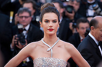 Alessandra Ambrosio at the gala screening for the film The Last Face at the 69th Cannes Film Festival, Friday 20th May 2016, Cannes, France. Photography: Doreen Kennedy