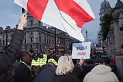 Brexit  protestors, Westminster . 9 September 2019