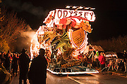 The Odyssey by Masqueraders CC at North Petherton Guy Fawkes Carnival 2010.