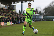 Forest Green Rovers Jack Aitchison(29), on loan from Celtic during the EFL Sky Bet League 2 match between Forest Green Rovers and Walsall at the New Lawn, Forest Green, United Kingdom on 8 February 2020.