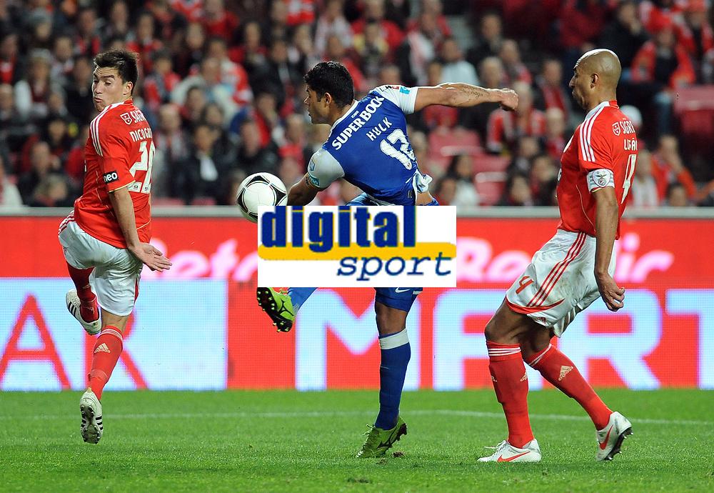 20120302: LISBON, PORTUGAL – Liga Zon Sagres 2011/2012: SL Benfica vs FC Porto. In Picture: Hulk (Porto). PHOTO: Alvaro Isidoro/CITYFILES