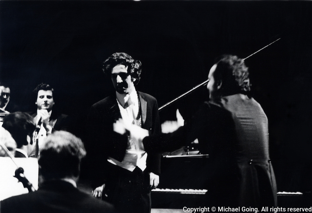 Vladimir Ashkenazy guest soloist, piano, LA Philharmonic February 1973 Lorin Maazel  guest conductor Bartok Deux Images, Op 10<br /> Scriabin: Piano concerto<br /> Tchaikovsky: Manfred Symphony