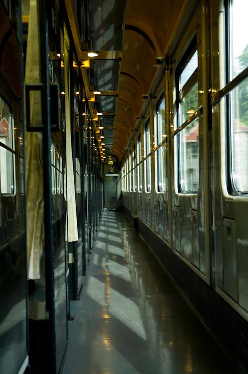 Old European train carridge