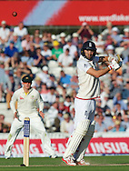 Mark Wood of England batting during the 5th Investec Ashes Test Match match at the Kia Oval, London<br /> Picture by Alan Stanford/Focus Images Ltd +44 7915 056117<br /> 21/08/2015