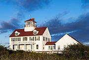 Coast guard station, Coast Guard Beach, Cape Cod National Seashore, Easham, Cape Cod, Massachusetts, USA.