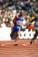Athletics, 26. august 2003, VM Paris, World Championship in Athletics,  Frank Fredericks, 200 metres
