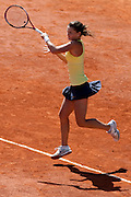 Roland Garros 2011. Paris, France. May 22nd 2011..Czech player Iveta BENESOVA against Samantha STOSUR...