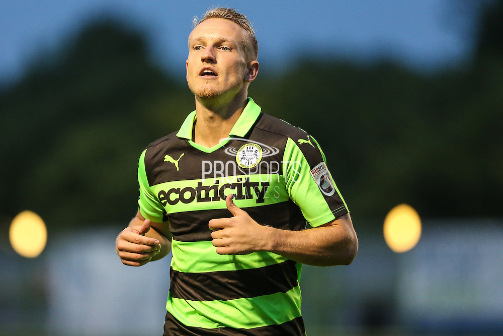 Forest Green Rovers Marcus Kelly (10) during the Gloucestershire Senior Cup match between Forest Green Rovers and Cheltenham Town at the New Lawn, Forest Green, United Kingdom on 20 September 2016. Photo by Shane Healey.