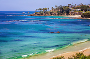 Beautiful Coast Line Of Laguna Beach California