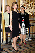 030414 Prince Felipe of Spain and Princess Letizia of Spain attends the Dinner-Tribute