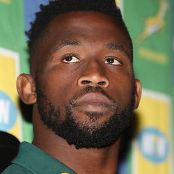 during the South African - Springbok Captain&rsquo;s media briefing, Tsogo Sun Montecasino Hotel <br /> Johannesburg .South Africa. 08,06,2018 Photo by (Steve Haag Sports)