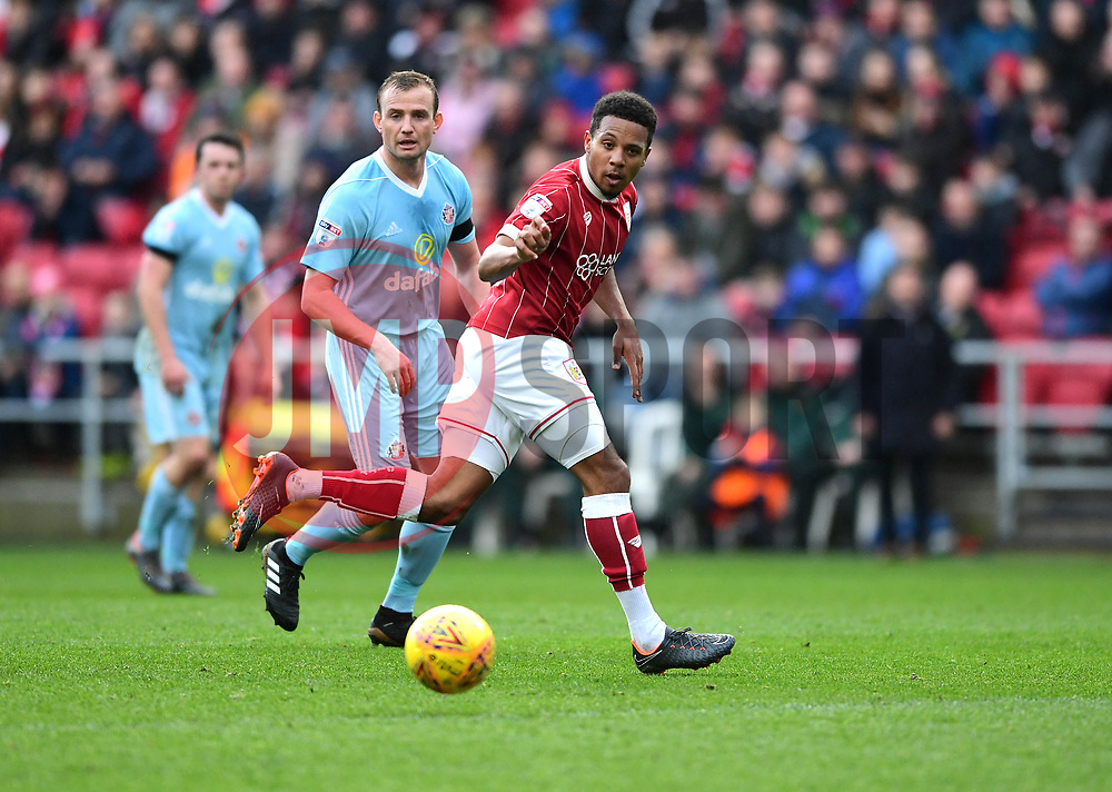 Korey Smith of Bristol City  - Mandatory by-line: Joe Meredith/JMP - 10/02/2018 - FOOTBALL - Ashton Gate Stadium - Bristol, England - Bristol City v Sunderland - Sky Bet Championship