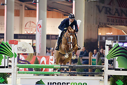 Peeters James, BEL, Nadal Hero & DB<br /> Pavo hengstencompetitie 5 jaar<br /> Hengstenkeuring BWP - Lier 2018<br /> © Dirk Caremans<br /> 20/01/2018