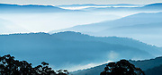 """View from Matlock, Victoria over the Victorian Alps, Australia<br /> 76.9cm x 35.9cm (30.3"""" x 14.1"""")<br /> Edition of 5"""