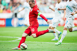 Wayne Rooney of England during the EURO 2016 Qualifier Group E match between Slovenia and England at SRC Stozice on June 14, 2015 in Ljubljana, Slovenia. Photo by Vid Ponikvar / Sportida