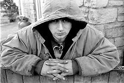 Homeless man UK