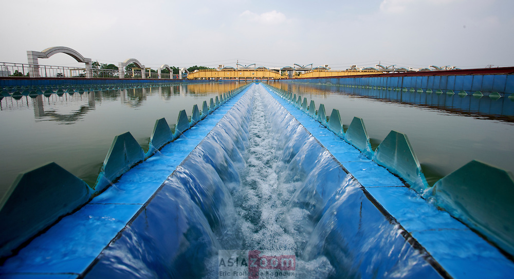 Sedimentation Tank at Liuzhou WWP, CHina 2008
