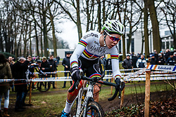 Thalita de Jong, NK Veldrijden Elite-Vrouwen en Amateur-Vrouwen / Dutch Championship Cyclocross Elite Women and Amateur Women at Sint Michielsgestel, Noord-Brabant, The Netherlands, 8 January 2017. Photo by Pim Nijland / PelotonPhotos.com | All photos usage must carry mandatory copyright credit (Peloton Photos | Pim Nijland)
