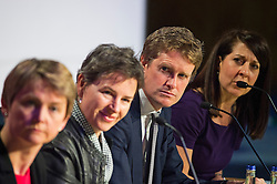 © London News Pictures. 16/05/2015. Yvette Copper, Mary Creagh, Tristram Hunt and Liz Kendal at Progress annual conference held at TUC Congress House in London to discuss the labour leadership race following a heavy defeat in the recent general election..  Photo credit: Ben Cawthra/LNP