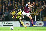 Burton Albion midfielder Lloyd Dyer (11) on the attack during the EFL Sky Bet Championship match between Burton Albion and Aston Villa at the Pirelli Stadium, Burton upon Trent, England on 26 September 2017. Photo by John Potts.