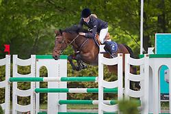 Bruin Leontine (NED) - Rocky's Ryan SB<br /> Finale KNHS-Roelofsen Raalte Trophy 2011/2012<br /> Klasse DZZ Zware Tour<br /> © Dirk Caremans