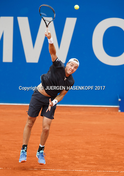 JAN-LENNARD STRUFF (GER)<br /> <br /> Tennis - BMW Open2017 -  ATP  -  MTTC Iphitos - Munich -  - Germany  - 3 May 2017.