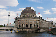 The Bodemuseum on the museum island,Berlin,Germany