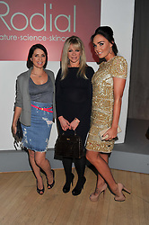Left to right, SADIE FROST, JO WOOD and TAMARA ECCLESTONE at the 2012 Rodial Beautiful Awards held at The Sanderson Hotel, Berners Street, London on 6th March 2012.