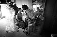 Jakob & Casey's Northern New Mexico black & white wedding photographs.