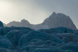 Monaco glacier in the northern parts of Spitsbergen, Svalbard