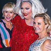NLD/Amsterdam/20191113 - Filmpremiere Judy, Mayday, Monique des Bouvrie en Mariska van Kolck