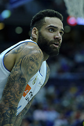 February 11, 2018 - Madrid, Madrid, Spain - JEFFERY TAYLOR  of Real Madrid in action  during the basketball macth of the Liga Endesa between Real Madrid and Iberostar Tenerife held at Wizink Center in Madrid, Spain, 11 February 2018. (Credit Image: © Oscar Gonzalez/NurPhoto via ZUMA Press)