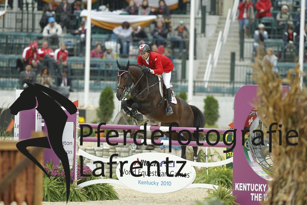 LAMAZE Eric, Hickstead<br /> Kentucky - Alltech FEI WEG 2010<br /> /Stefan Lafrentz